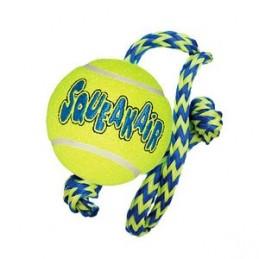 Jouet Kong AirDog Squeakair Ball avec corde