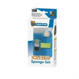 SuperFish Kit Eponge Biologique IQUBE3