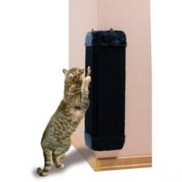 Griffoir Chat Trixie d'angle sisal noir