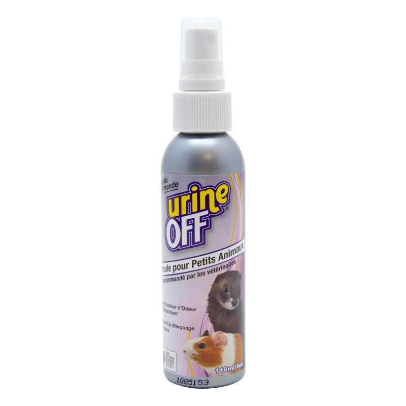 Urine Off pour petits animaux 118ml
