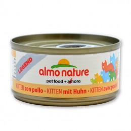Terrine pour Chat Almo Nature Legend Kitten avec Poulet lot de 6