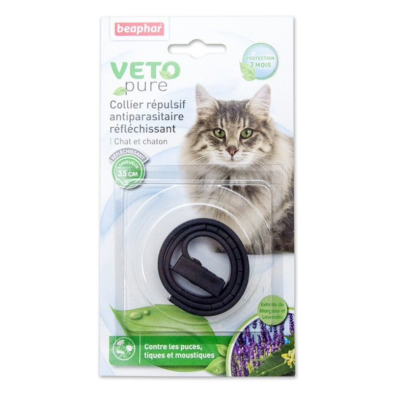 Antiparasitaire Chat Beaphar Collier pour chat et chaton
