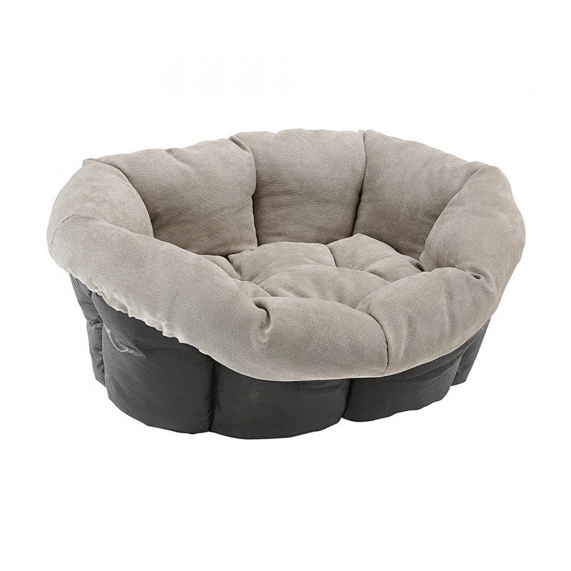 coussin chien sofa prestige gris boutique chien en ligne. Black Bedroom Furniture Sets. Home Design Ideas