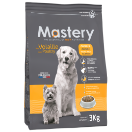 Croquettes Mastery Chien Adulte Volaille 3 kg