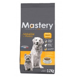 Croquettes Mastery Chien Adulte Volaille 12 kg