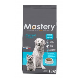 Croquettes Mastery Chien Adulte Canard 12 kg