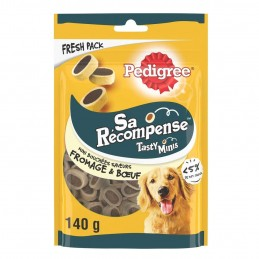 Friandises Pedigree Sa récompense Tasty Minis fromage PEDIGREE 5998749128176 Friandises