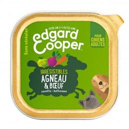Terrine Edgard Cooper Agneau & boeuf EDGARD COOPER 5425039486413 Paté pour chien