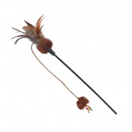 Canne à pêche pour chat Trixie TRIXIE 4011905457413 Cannes à pêche