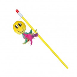 Canne à pêche Smiley pour chat Trixie TRIXIE 4011905457970 Cannes à pêche