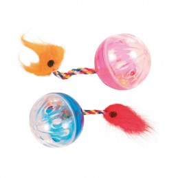 Lot 2 balles hochet Trixie TRIXIE 4011905041650 Balles