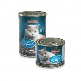 Pâtée Leonardo poisson de mer LEONARDO  Boîtes, sachets pour chats