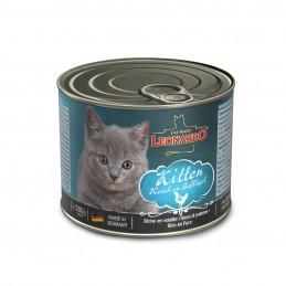 Pâtée Leonardo kitten LEONARDO  Boîtes, sachets pour chats