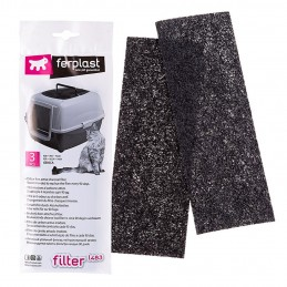 Filtre au charbon actif Ferplast L483 FERPLAST 8010690087245 Litières et accessoires