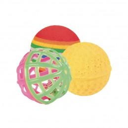 Balle pour chat Trixie - Lot de 3 TRIXIE 4011905041322 Balles