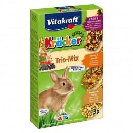 Kräcker Lapins Nains Trio-Mix Vitakraft VITAKRAFT VITOBEL 4008239253385 Friandise & Complément