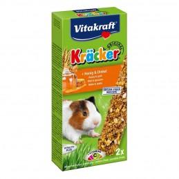 Kräcker Miel & Epeautre Cochons d'Inde Vitakraft VITAKRAFT VITOBEL 4008239251633 Friandise & Complément