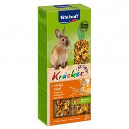 Kräcker Au Miel pour Lapins Nains Vitakraft VITAKRAFT VITOBEL 4008239250186 Friandise & Complément