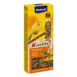 Vitakraft Kräcker Canaris au miel & sésame x3 VITAKRAFT VITOBEL 4008239212511 Canaris