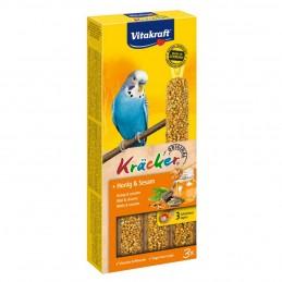 Vitakraft Kräcker Perruches miel & sésame x3 VITAKRAFT VITOBEL 4008239212436 Perruche