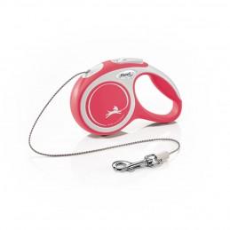 Laisse enrouleur Comfort Flexi rose