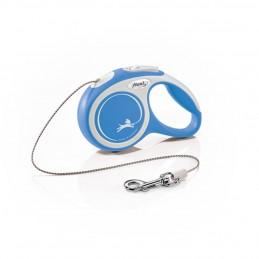 Laisse enrouleur Comfort Flexi bleu
