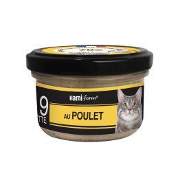 """Terrine """"Les Cuisinés"""" poulet/dinde/canard HamiForm HAMI  Boîtes, sachets pour chats"""