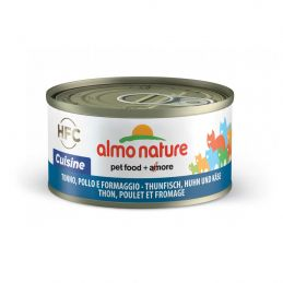 Lot Terrines pour chat Almo Nature Legend