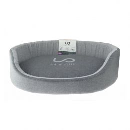 Corbeille In & Out gris pour chien Zolux