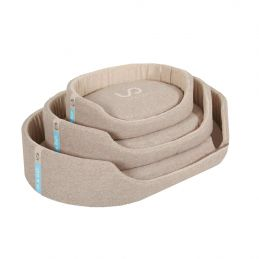 Corbeille In & Out taupe pour chien Zolux