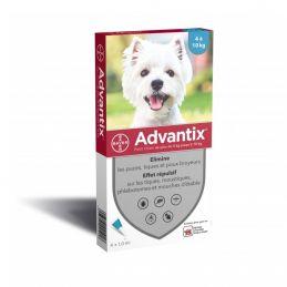 Antiparasitaire Advantix 4-10 kg