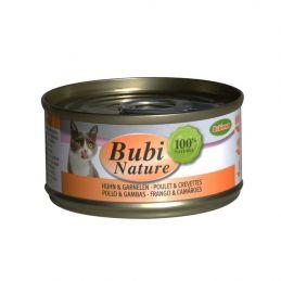 Bubi Nature Poulet & crevettes x24