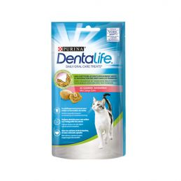 Friandise Dentalife Daily oral care saumon PURINA 7613036724258 Friandises