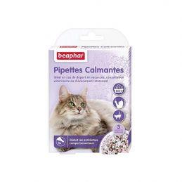 Pipettes calmantes pour chat Beaphar BEAPHAR 8711231138975 Bio et nature