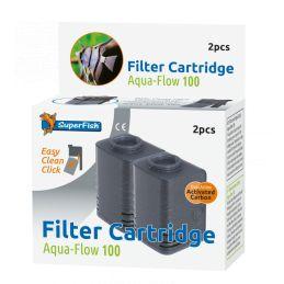 Superfish Aqua Flow 100 Easy Click Cassettes 2PCS SUPERFISH 8715897041785 Autres