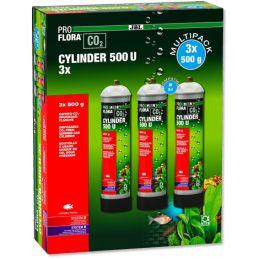 JBL ProFlora U500 CO2 (lot de 3) JBL 4014162646637 Kit CO2