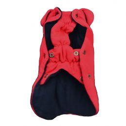 Manteau Wouapy rouge