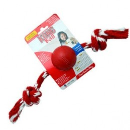 Jouet Kong balle avec corde KONG 035585181202 Jouets Kong
