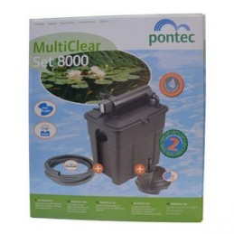 Pontec Kit de filtration Multiclear Set 8000.