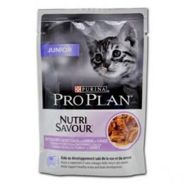 Terrine pour Chat ProPlan Nutri Savour Junior Dinde PRO PLAN 7613034587725 Boîtes, sachets pour chats