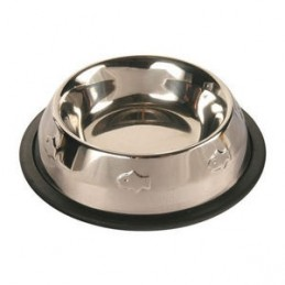Trixie ecuelle en inox pour chats Fish Logo TRIXIE 4011905248707 Gamelles, distributeurs