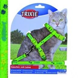 Harnais pour Chat Trixie ajustable avec laisse