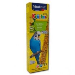 Vitakraft Kräcker Perruches kiwi et citron VITAKRAFT VITOBEL 4008239212672 Perruche