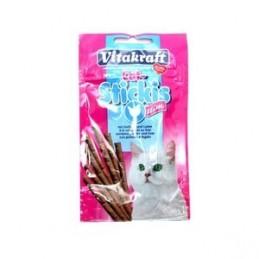 Friandise pour Chat Vitakraft Cat stick slim volaille & foie VITAKRAFT VITOBEL 4008239241467 Friandises