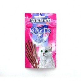Friandise pour Chat Vitakraft Cat stick slim saumon & truite VITAKRAFT VITOBEL 4008239241474 Friandises