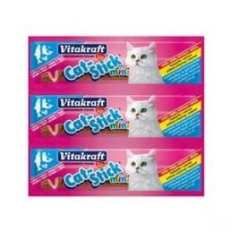 Friandise pour Chat Vitakraft Cat stick mini saumon truite VITAKRAFT VITOBEL 4008239241917 Friandises