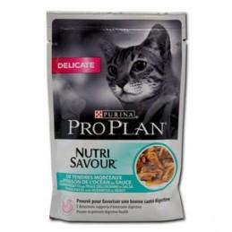 Terrine pour Chat ProPlan Nutri Savour Delicate Poisson de l'océan PRO PLAN  Boîtes, sachets pour chats