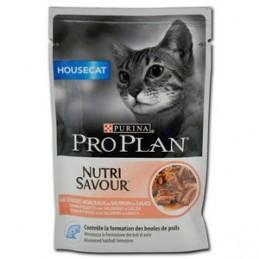 Terrine pour Chat ProPlan Nutri Savour Housecat Saumon PRO PLAN  Boîtes, sachets pour chats