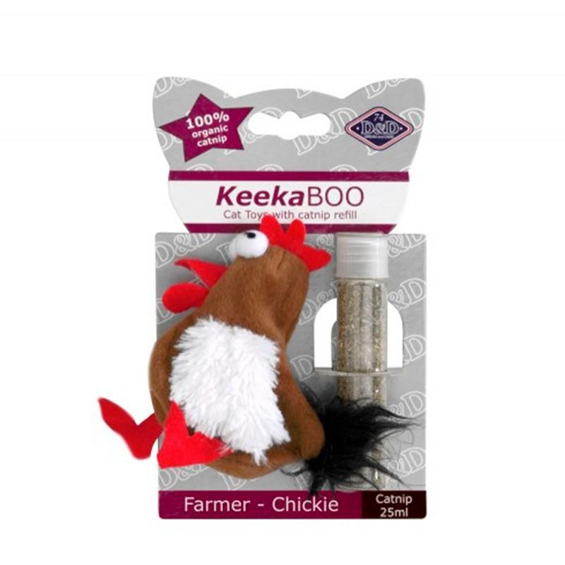 Jouet pour chat D&D KeekaBOO Farmer-Chickie EUROPET 4047059427552 Souris, peluches