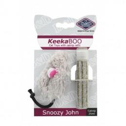 Jouet pour chat D&D KeekaBOO Snoozy-John EUROPET 4047059416822 Souris, peluches